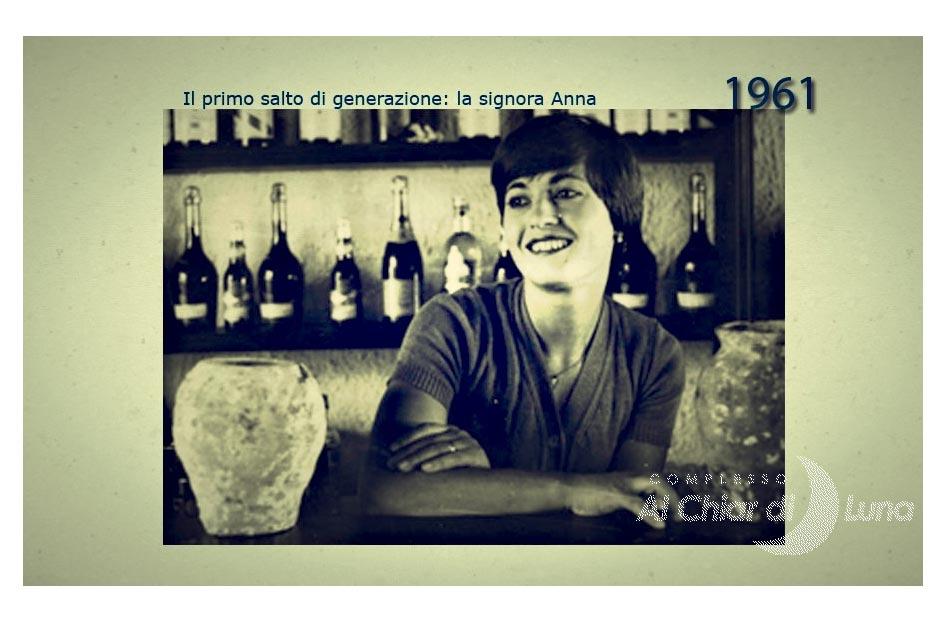 Storia Al Chiar di Luna: 1961